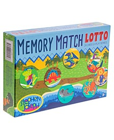 Memory Match Lotto Game