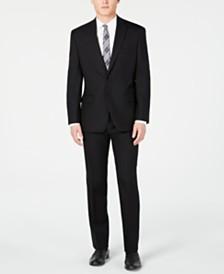 Michael Kors Men's Classic Fit Black Solid Suit