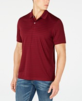 eb706835 Club Room Men's Stripe Performance Polo, Created for Macy's