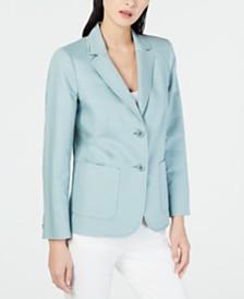 Weekend Max Mara Malia Cotton & Linen Jacket
