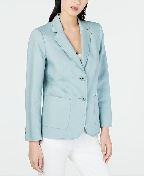 Weekend Max Mara Malia Cotton & Linen Jacket