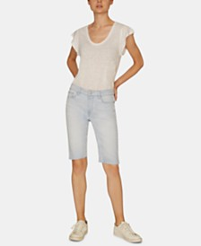 Sanctuary Endless Summer Denim Bermuda Shorts