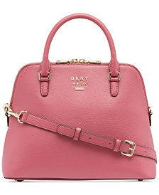 DKNY Whitney Leather Dome Satchel, Created for Macy's