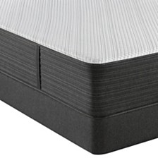 "Beautyrest Hybrid BRX1000-C 13"" Plush Mattress Set- Queen Split"