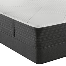 "Beautyrest Hybrid BRX1000-IP 13.5"" Medium Firm Mattress Set  - Queen Split"