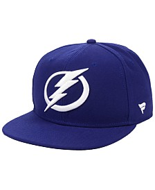 Authentic NHL Headwear Tampa Bay Lightning Basic Fan Snapback Cap
