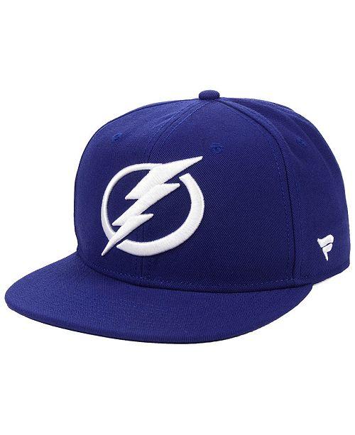 Authentic NHL Headwear Tampa Bay Lightning Basic Fan Snapback Cap
