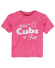 Toddlers Chicago Cubs Girly Fan T-Shirt