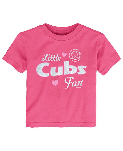 Outerstuff Toddlers Chicago Cubs Girly Fan T-Shirt