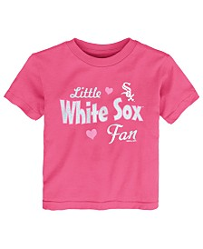 Outerstuff Toddlers Chicago White Sox Girly Fan T-Shirt
