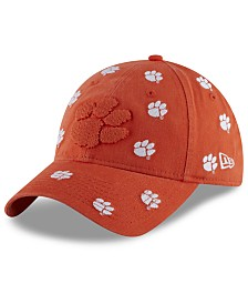 New Era Women's Clemson Tigers Logo Scatter Cap