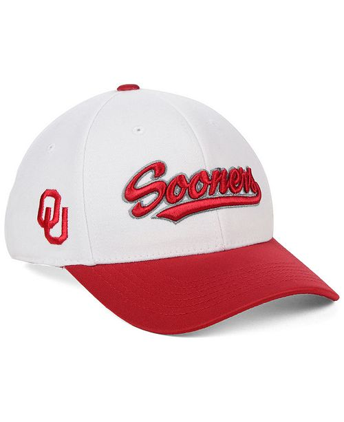 Top of the World Oklahoma Sooners Tailsweep Flex Stretch Fitted Cap