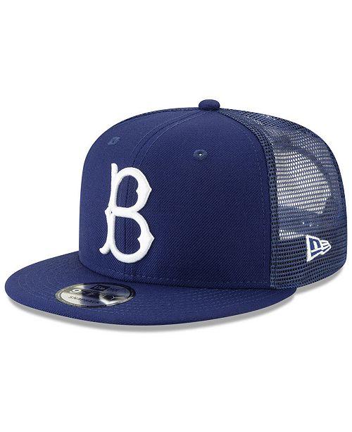 New Era Brooklyn Dodgers Coop All Day Mesh Back 9FIFTY Snapback Cap