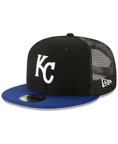 New Era Kansas City Royals Coop All Day Mesh Back 9FIFTY Snapback Cap