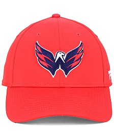 Authentic NHL Headwear Washington Capitals Basic Flex Stretch Fitted Cap