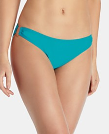 Raisins Juniors' West Coast Solids O-Ring Bikini Bottoms