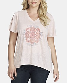 Trendy Plus Size Graphic T-Shirt