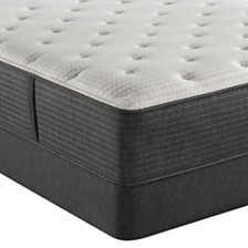 "Beautyrest Silver BRS900-C-TSS 14.5"" Plush Mattress Set - Queen Split, Created For Macy's"