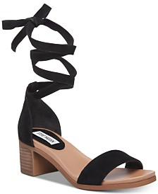 Steve Madden Women's Adjust Tie-Up Sandals