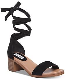 6b347ab86c8 Steve Madden Oasis Tie-Up Dress Sandals & Reviews - Sandals & Flip ...