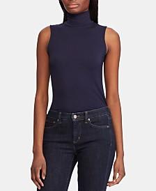 f5ee20aef2034 Lauren Ralph Lauren Ribbed Turtleneck Sweater   Reviews - Sweaters ...