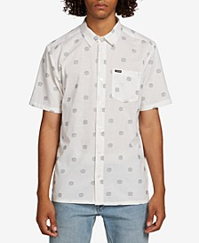 Men's Nolen Regular-Fit Geo-Print Shirt