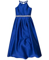 8ae0e17b9f00 Speechless Embellished Satin Maxi Dress, Big Girls