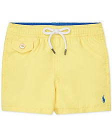 Polo Ralph Lauren Baby Boys Traveler Swim Trunks