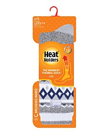 Heat Holders Women's Lite Jacquard Thermal Socks