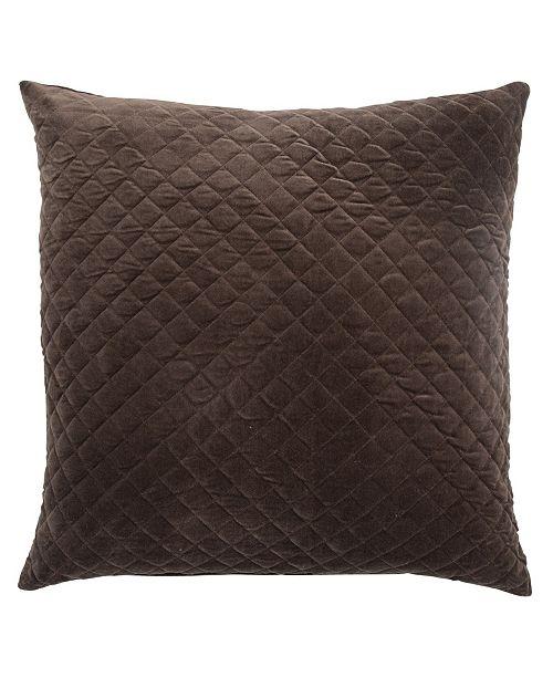 "Jaipur Living Posh Solid Poly Throw Pillow 22"""