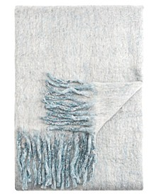 "Yukon Gray Solid Throw 50"" X 60"""