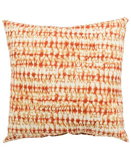 "Jaipur Living Perron Fresco Abstract Indoor/ Outdoor Throw Pillow 18"""
