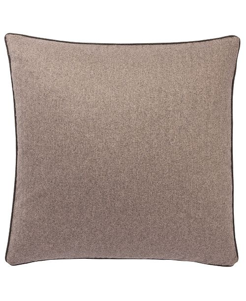 Jaipur Living Rollins Solid Light Brown Down Throw Pillow 22""
