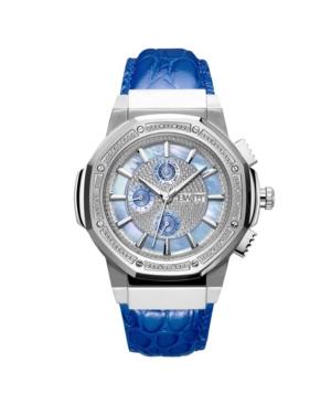 Men's 10 Yr Anniversary Saxon Diamond (1/6 ct.t.w.) & Stainless Steel Watch