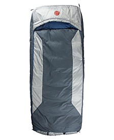 Home-Away-Bed M-3D -10 Degree Fahrenheit -23.3 Degree Celsius Multi-Down Hooded Rectangular Sleeping Bag and Tall XL