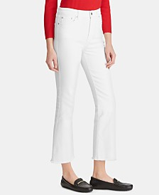 Lauren Ralph Lauren Regal Straight Crop Jeans