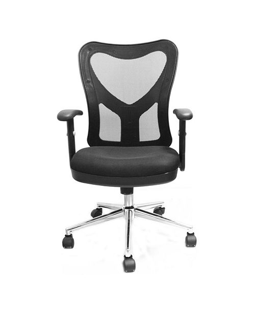 RTA Products Techni Mobili High Back Mesh Office Chair, Quick Ship