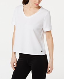 Ideology Scoop-Neck T-Shirt, Created for Macy's