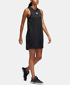 adidas Team Issue Asymmetrical-Hem Dress