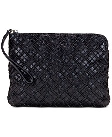 Patricia Nash Braided Stitch Cassini Wristlet