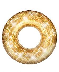 """Pool Candy Glitter Pool Tube 48"""" - Gold Glitter"""