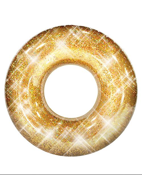 "PoolCandy Pool Candy Glitter Pool Tube 48"" - Gold Glitter"