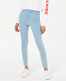 High-Rise Skinny Stretch Jeans