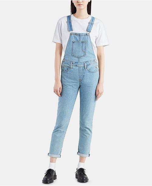 59947cade4a Levi s Original Cotton Overalls   Reviews - Jeans - Juniors - Macy s