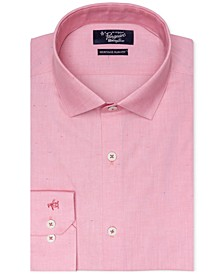 Men's Heritage Slim-Fit Comfort Stretch Solid Dress Shirt