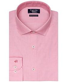Men's Heritage Slim-Fit Comfort Stretch Solid Dress Shirt