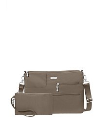 Baggallini Tablet Crossbody With RFID