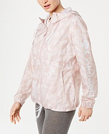 Flash Forward Printed Windbreaker