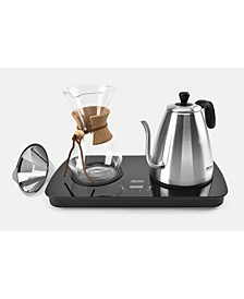 4-Cup Digital Pour Over Coffee