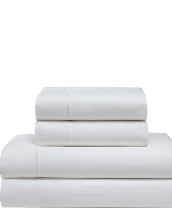 Elite Home Cool Comfort Cotton Solid King Sheet Set